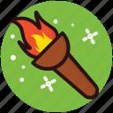 blazing fire torch, convenional torch, fire, fire on a stick, fire torch