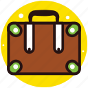 attache, baggage, luggage, suitcase, travel bag icon