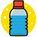 aqua, beverage, mineral water, water, water bottle icon