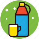 hot tea, percolator, tea, thermos, vacuum bottle icon