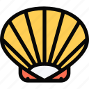 beach, camping, holidays, shell, tour, travel, vacation icon