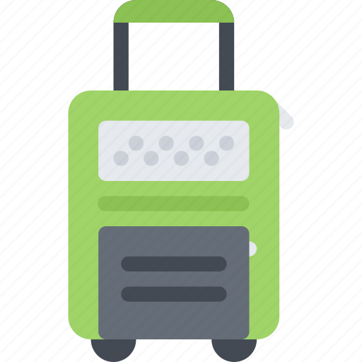 bag, beach, camping, resort, rolling, travel, vacation icon