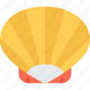 beach, camping, resort, shell, travel, vacation icon
