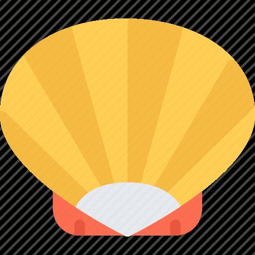 beach, camping, resort, shell, travel, vacation icon