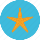 fish, journey, sea, starfish, tourist, travel, vacation icon