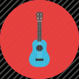 guitar, journey, music, tourist, travel, ukulele, vacation icon