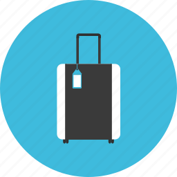 bag, hotel, journey, luggage, tourist, travel, vacation icon