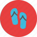 feet, journey, shoe, slipper, tourist, travel, vacation icon