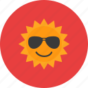 journey, sun, sunglasses, tourist, travel, vacation icon