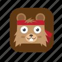 .svg, bear, cute icon