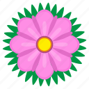 bud, flower, nature, plant, violet icon
