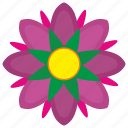 bud, flower, grow, plant, rose icon