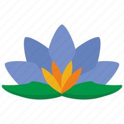 bud, flower, lily, plant icon