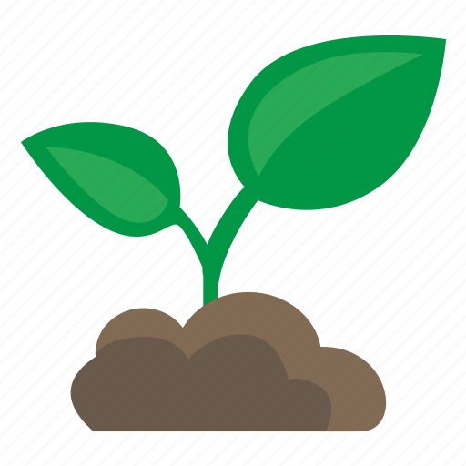 earth, green, grow, leaf, plant, tree icon