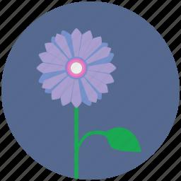 bud, flower, nature, plant, round icon