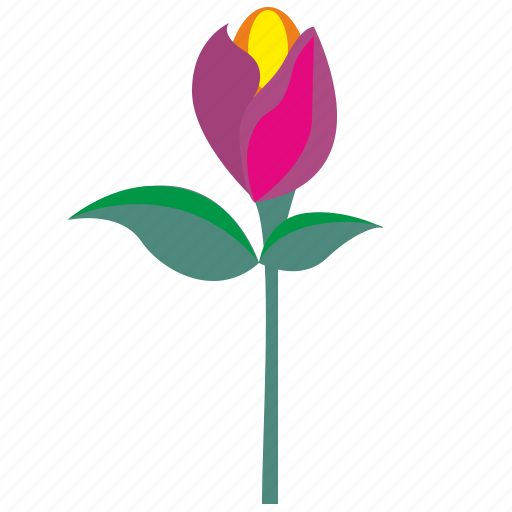 bud, flower, gift, plant, rose icon