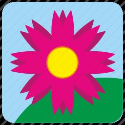 app, bud, flower, nature, plant icon
