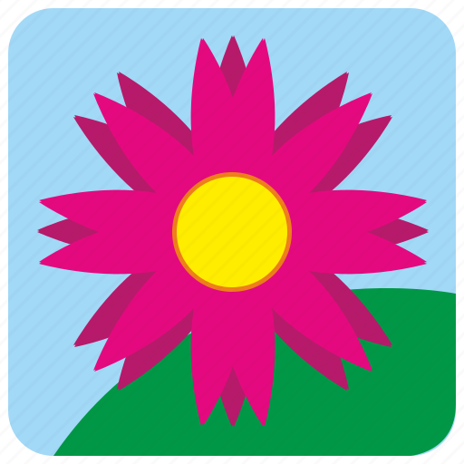 app, bud, flower, nature, plant icon