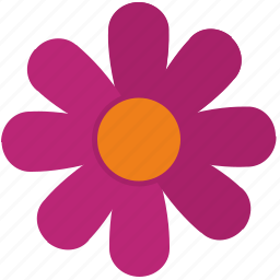 bud, flower, pink, plant, rose icon