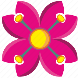 bud, flower, plant, rose icon