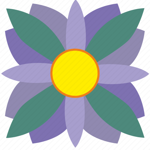 bud, flower, plant, violet icon