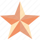 achivement, award, bookmark, favorite, featured, prize, star icon