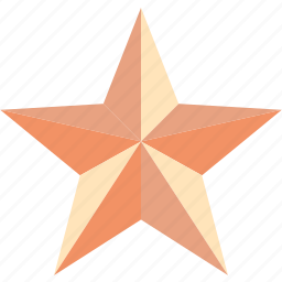 achivement, award, bookmark, favorite, featured, prize, star icon