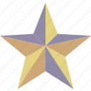 achievement, award, bookmark, favorite, featured, prize, star icon