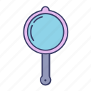 device, glass, make up, mirror, tool icon