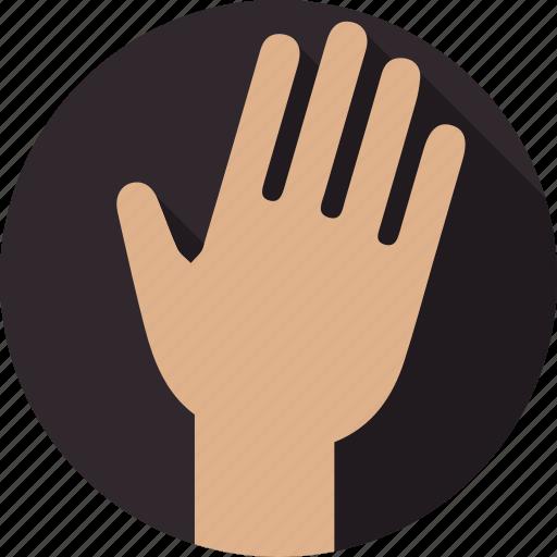 hand, massage, spa, wellnes icon