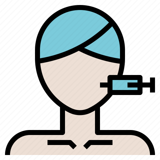 Beauty, facial, filler, injection, lift icon - Download on Iconfinder