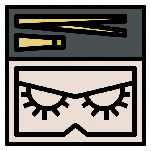 Beauty, curl, eye, false, lashes, makeup icon - Download on Iconfinder