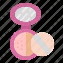 cosmetics, fashion, femenine, makeup, powder