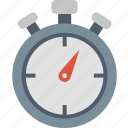 stopwatch, duration, schedule, clock, timer, time icon