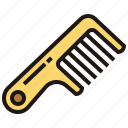 barber, comb, grooming, hair, hairbrush icon