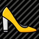 bride heel, footgear, footwear, high heel, ladies shoe icon