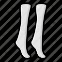 anklet cover, footwear, socks, stockings, undershoe socks icon
