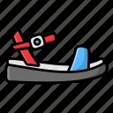 footgear, footwear, ladies sandals, sandal, shoe icon