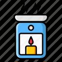 aroma, aroma lamp, aroma light, aromatherapy, diffuser, spa therapy icon