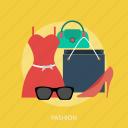 bag, beauty, dress, eyeglasses, fashion, glamour, model