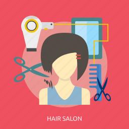 beauty, fashion, hair, haircut, hairstyle, head, salon icon