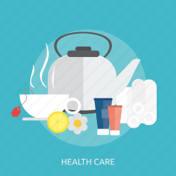 beauty, care, cream, fashion, health, herbal, teapot icon