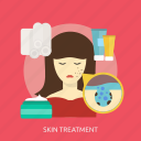 beauty, care, face, fashion, health, skin, treatment icon