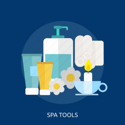 beauty, care, fashion, flower, glass, spa, tools icon