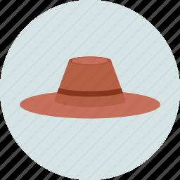 bowler hat, cap, cowboy hat, hat icon