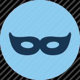 ball, carnival, mask, masquerage icon