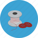 easymix, needle, thread, wsd icon