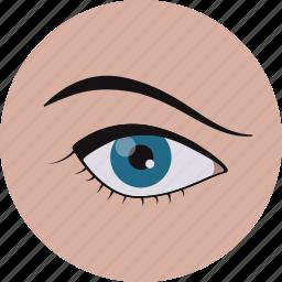care, eye, eyes, medical, optometry, test, vision ic icon