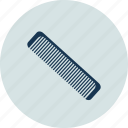 comb, hair, hair accessory, plastic hair comb icon