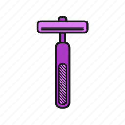 beauty, girl, lady, shaver, shower, woman icon